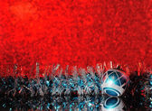 Red christmas background — Stockfoto