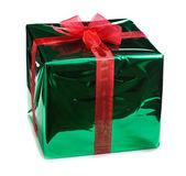 Zielone pudełko — Zdjęcie stockowe