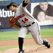 Stock Photo: Indianapolis Indians pitcher Daniel Moskos