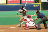Rochester Red Wings batter Garret Jones — Stock Photo