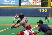 Rochester Red Wings batter Garret Jones — Stock Photo