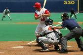 Scranton Wilkes Barre Red Barons batter Jim Rushford — Stock Photo