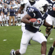 Penn State running back Stephon Greene hits hole — Stock Photo #18243469