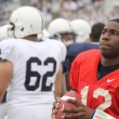 Penn State quarterback Kevin Newsome — Stock Photo