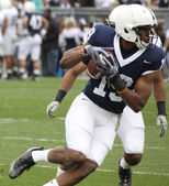Penn State receiver Justin Brown makes the catch — Stock Photo
