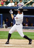 Scranton Wilkes Barre Yankees ourtfielder Brett Gardner — Stock Photo