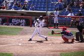 Binghamton Mets' catcher Juan Centeno — Stock Photo