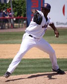 Binghamton Mets Robert Carson — Stock Photo