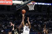 Penn State's Jeff Brooks dribbles — Foto de Stock