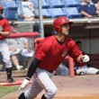 Постер, плакат: Andrew Lambo of the Altoona Curve currently with the Pittsburgh Pirates