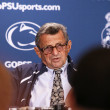 Penn State coach Joe Paterno — Stock Photo
