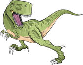 Tyrannosaurus Rex Dinosaur T-Rex Vector — Stock Vector