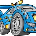 Apocalyptic Car Vehicle Vector — Stock Vector