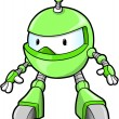 Cute Robot vector illustration — Stock Vector