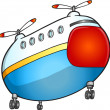 Rescue transport Helicopter Vector Illustration Art — стоковый вектор #32341217