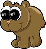 Happy Bear — Cтоковый вектор