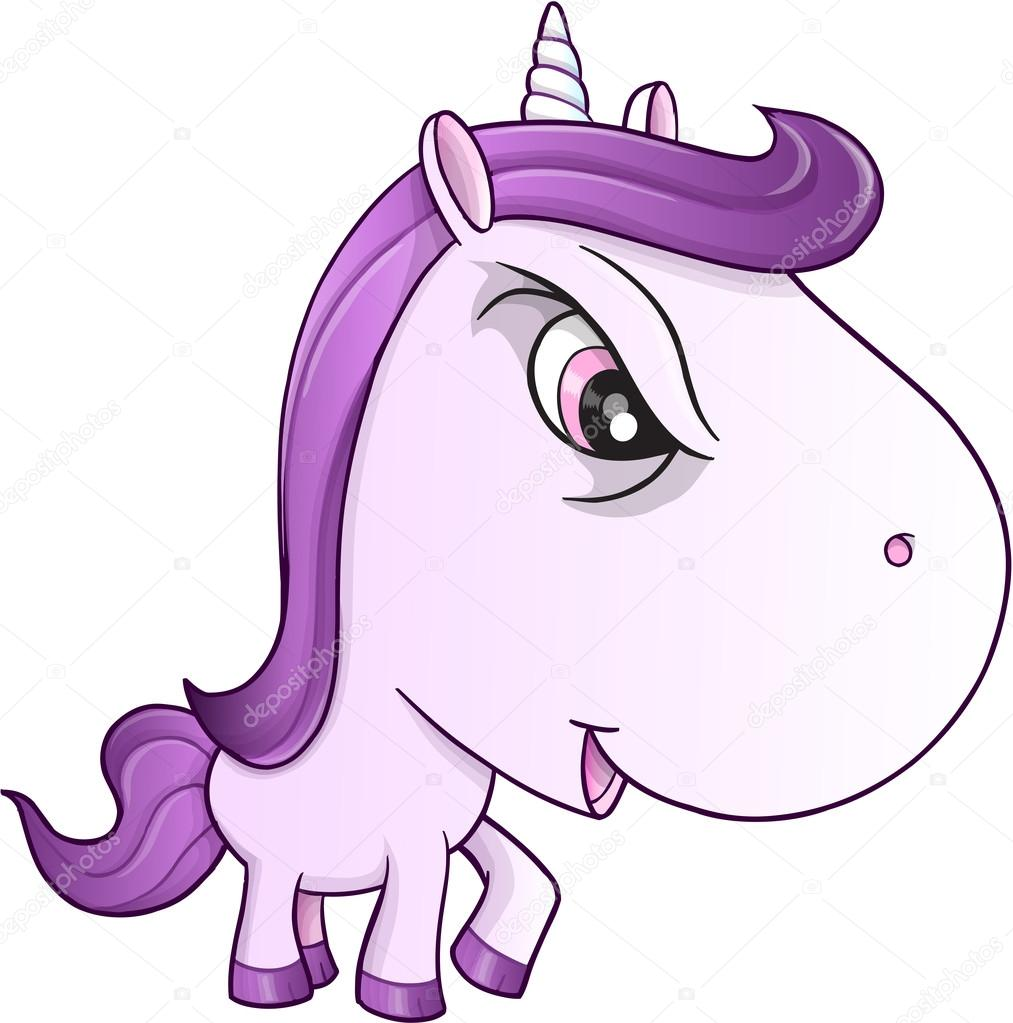 en colre licorne moyen poney vector illustration art illustration