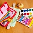 School supplies - Foto Stock