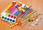 Materials for children — Stock Photo