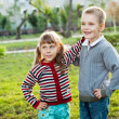 Two children - Stock Photo