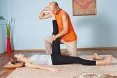 Thai massage — Stock Photo