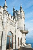 Swallow's nest castle — Stock Photo
