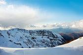 Zimowe góry krajobraz — Zdjęcie stockowe