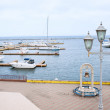 Stock Photo: Port with boats marina