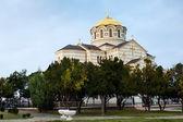 Orthodox Cathedral in Sevastopl — Stock Photo