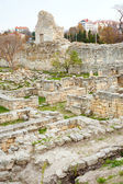 The ruins of Chersonesos — Stock Photo