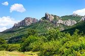 Mountain rocks — Stock Photo