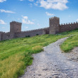Genoese fortress in Crimea — Stock Photo
