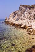 Beautiful rocky sea coast — Stock Photo
