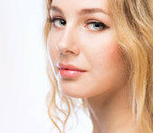 Beauty woman face — Stock Photo
