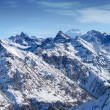 Snow-capped mountains. Dombay — Stock Photo