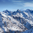 Stock Photo: Snow-capped mountains. Dombay