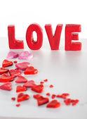 надпись любви — Стоковое фото