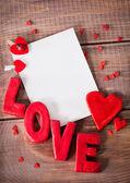 Слово любові — Zdjęcie stockowe