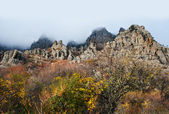 Ghost Valley. Crimea  — Foto Stock