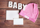 Background for newborn baby  — Stock Photo