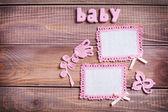 Background for newborn baby — Foto Stock