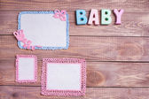 Background for newborn baby — Foto Stock