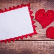 Background  with two hearts — Stock Photo #44188009
