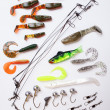 Jig bait for fishing  — Stock Photo #45733329