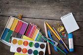 Items for children's creativity — Stock fotografie