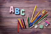 Artykuły dla kreatywności dzieci — Zdjęcie stockowe