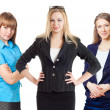 Three businesswomen — Stock Photo #9403907