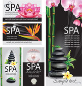 Concepto de spa — Vector de stock