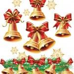 Christmas bell — Stock Vector #13838088