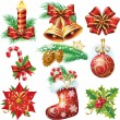 Royalty-Free Stock Векторное изображение: Christmas objects
